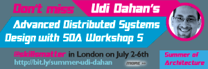 Udi Dahan's 5-day course Advanced Distributed Systems Design with SOA will help you to take the pain out of designing large-scale distributed systems.