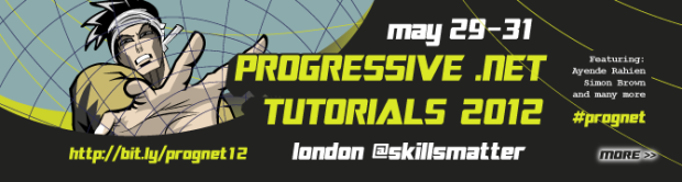 Watch the videos from the 2012 Progressive .NET Tutorials