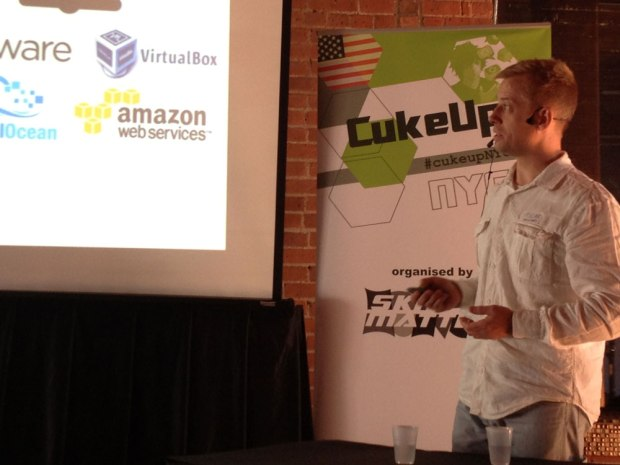 Aslak Hellesoy launches cucumber.pro at CukeUp! NYC